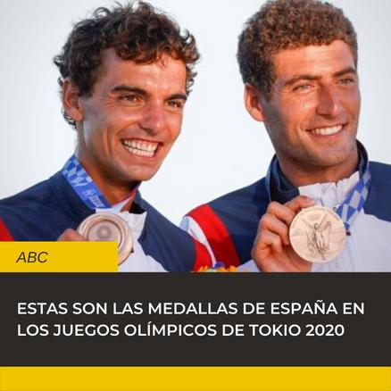 Medallas España