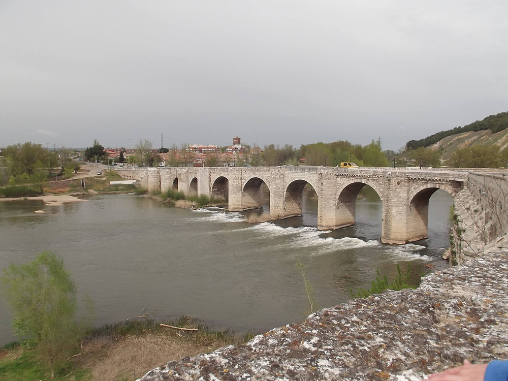 Puente medieval de Cabezón de Pisuerga