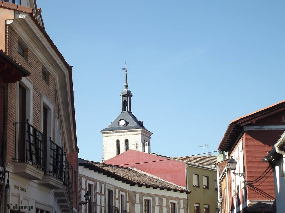 Calle principal de Tudela de Duero