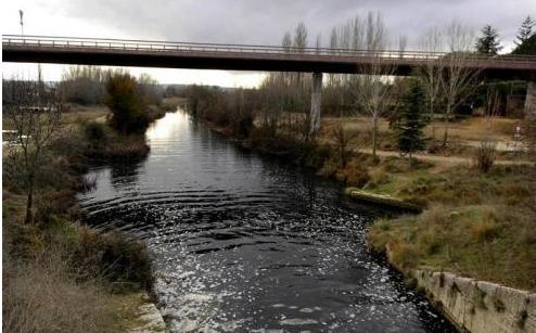 Canal de Castilla en Cubillas de Santa Marta