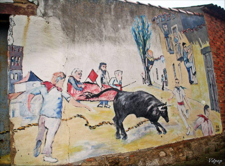 Vaca enmaromada de Palazuelo de Vedija