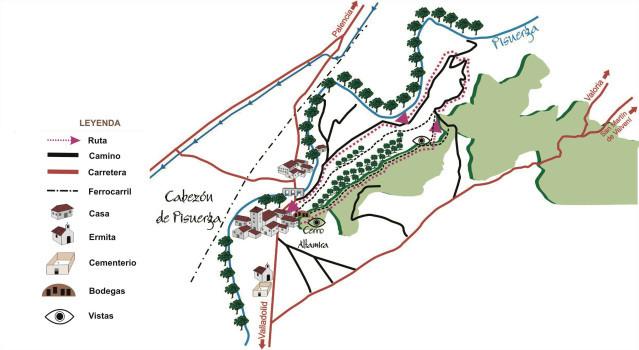 Ruta de los Cortados de Cabezón de Pisuerga