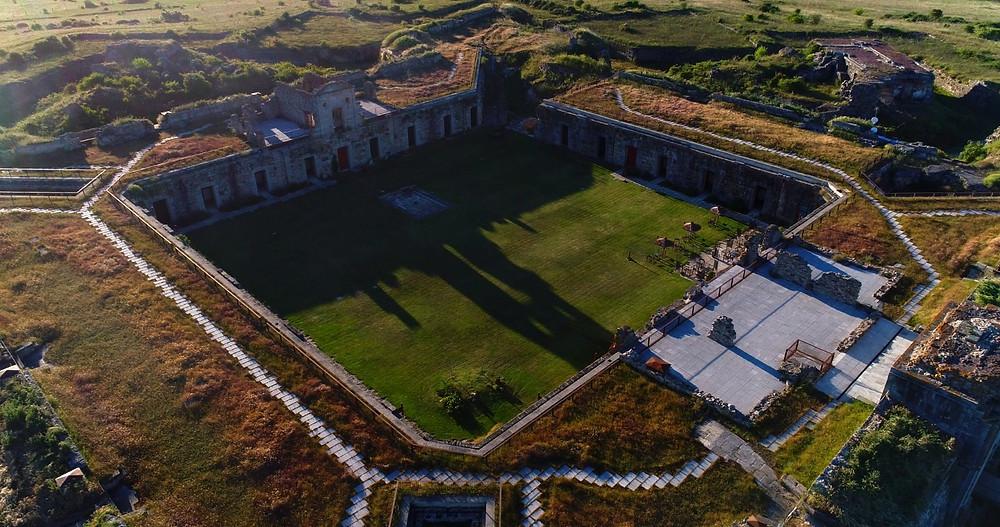Patio de Armas del Real Fuerte de la Concepción