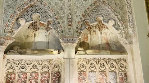 Los sepulcros mudéjares de Cuéllar, una joya llena de sorpresas