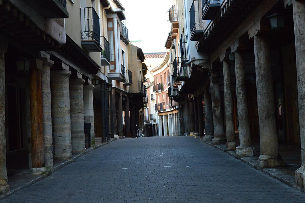 Calle principal de Medina de Rioseco