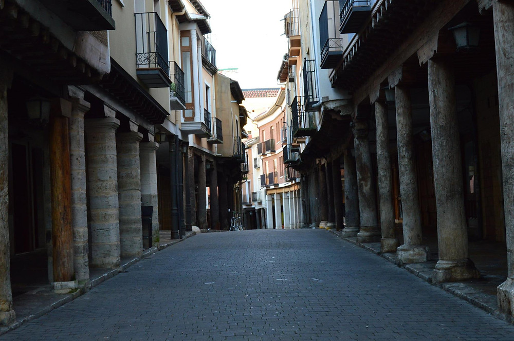 Calle Mayor de Medina de Rioseco