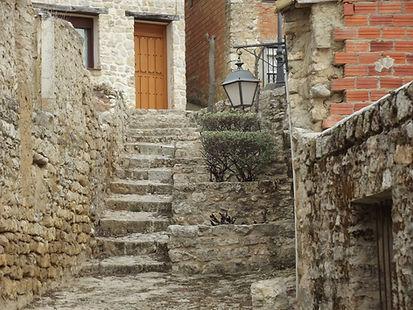 Calle de Trigueros del Valle foto recurs