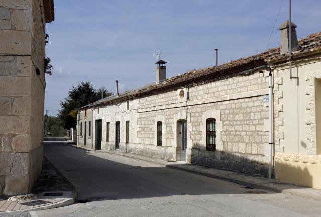Calle en Bahabón
