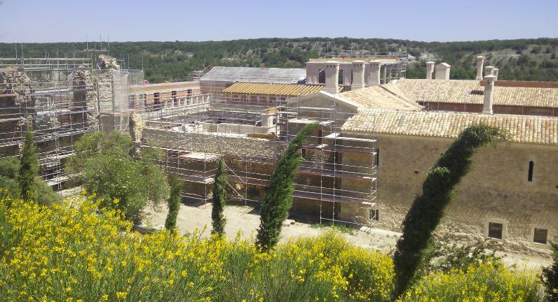 Rehabilitación monasterios de San Pelayo en Cevico Navero