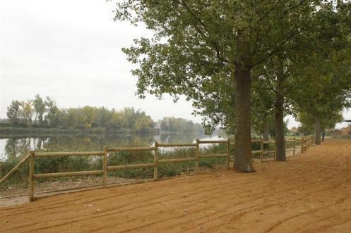 Río Duero a su paso por San Miguel del Pino