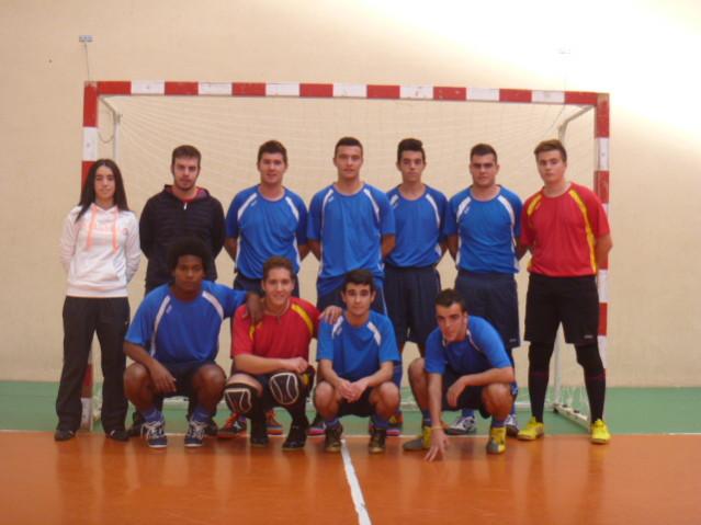 Equipo juvenil, temporada 13/14 F.S. Pedrajas