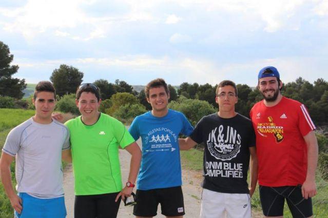 Participantes en la Ultramaratón de Torozos