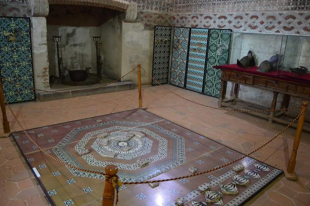 Sala interior Castillo de Coca