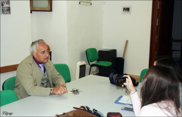 Entrevista al alcalde de Palazuelo de Vedija