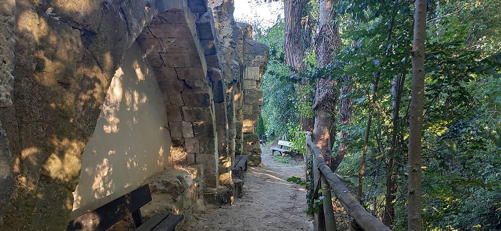 paseo del monasterio de Nogal de las Huertas