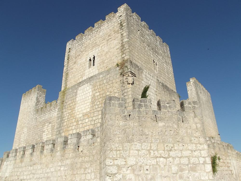 Castillo de Encinas de Esgueva.