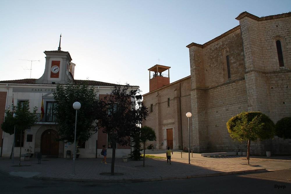 Plaza del Ayuntamiento de Valdestillas
