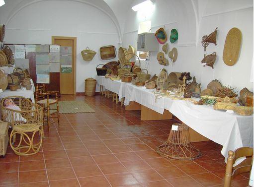 Exposición sobre la cestería 2008 Asociación Marrandiel