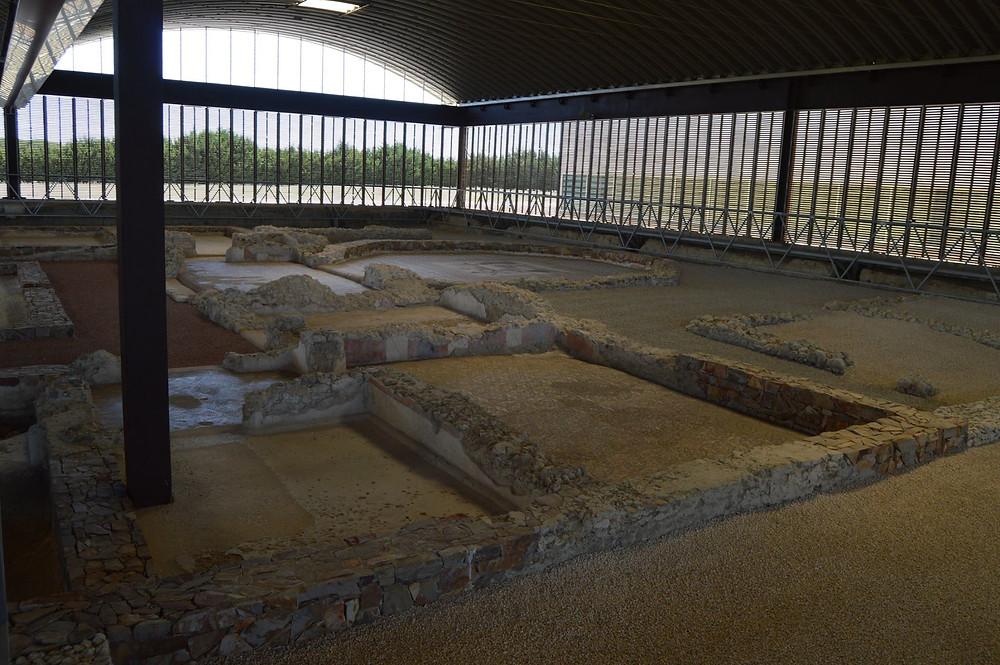 Villa romana de Almenara-Puras.