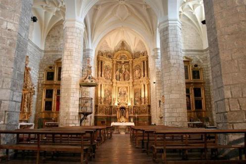 Interior de la Parroquia de la Asunción de Villabáñez