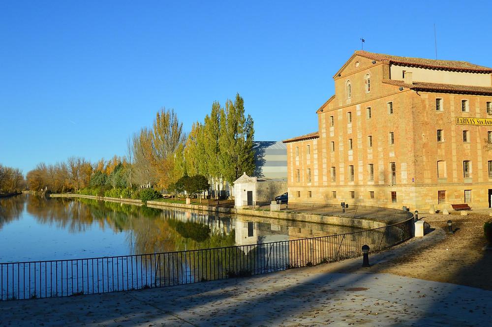Canal de Castilla y Fábrica de Harinas