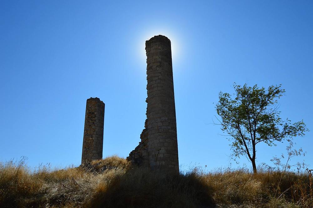 Restos del Castillo de Canillas De Esgueva