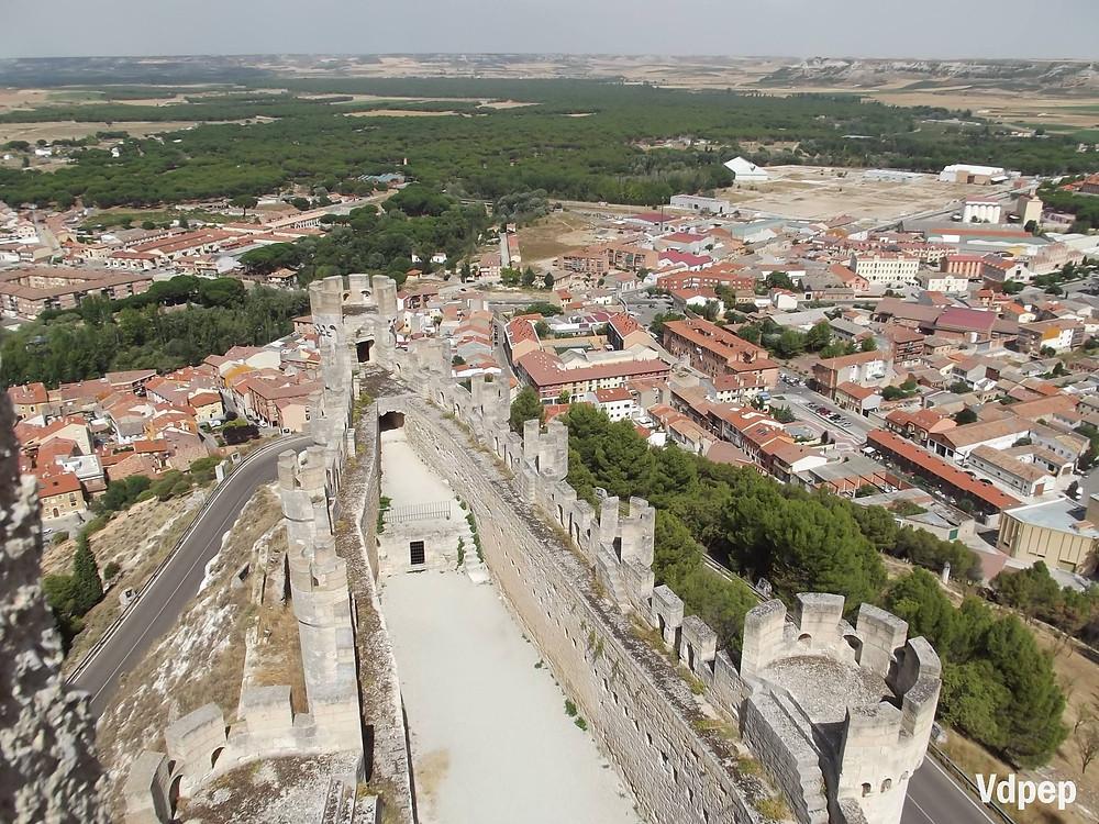 Vistas desde el Castillo de Peñafiel.