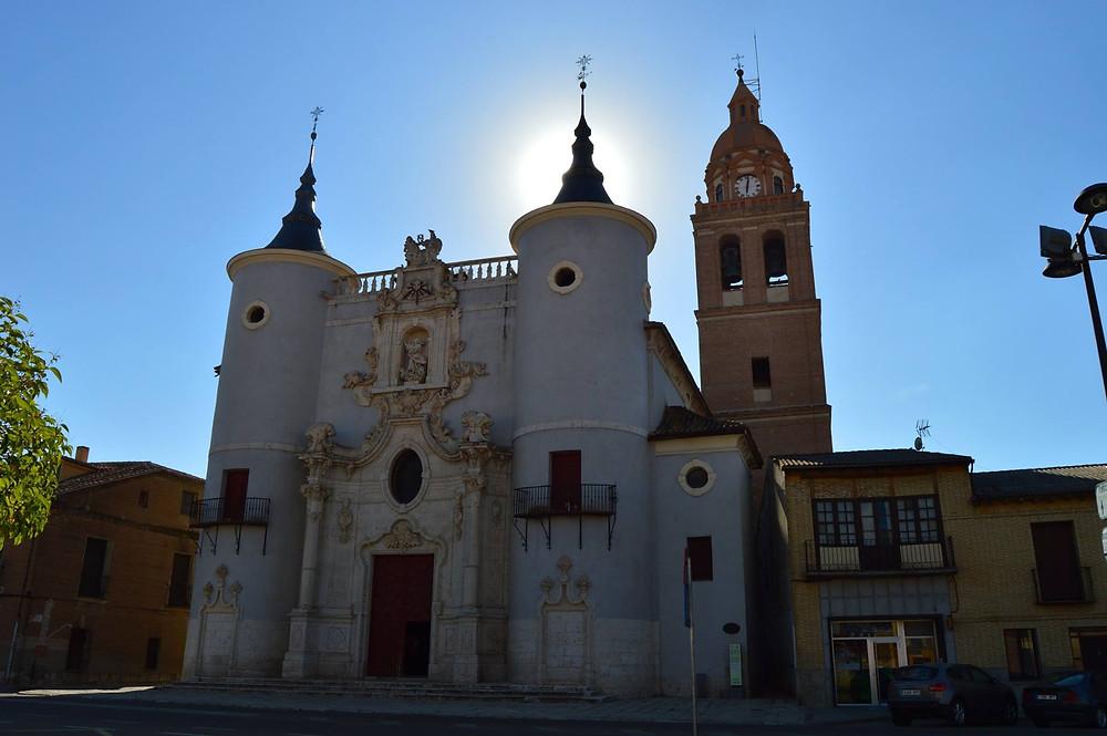 Iglesia de Rueda.