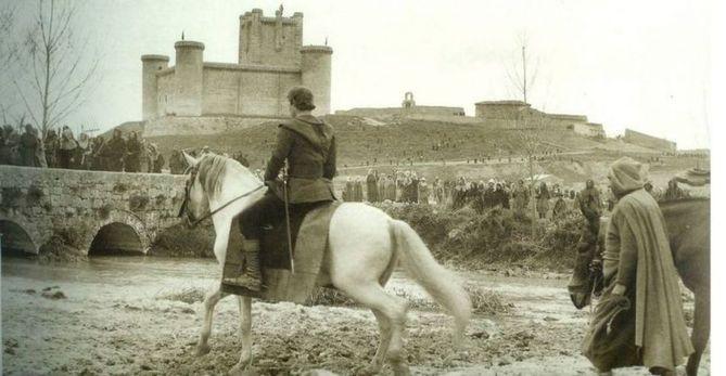 Rodaje de El Cid de Charlton Heston