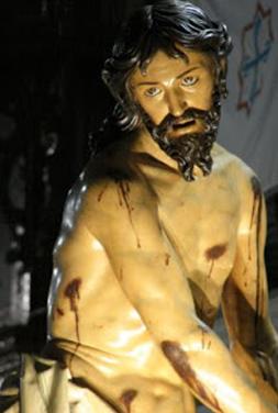 Cristo atado a la columna Semana Santa de Valladolid