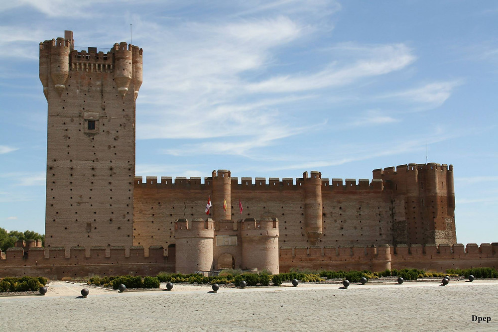 Castillo de Medina del Campo.