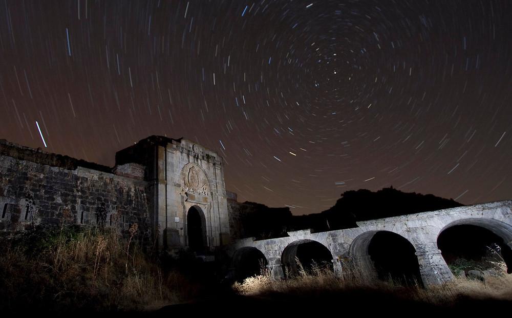 Visión nocturna del castillo. Autor: Javier Herrera González