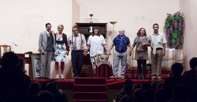 Actores de la Asociación Teatral Vaya Rollo