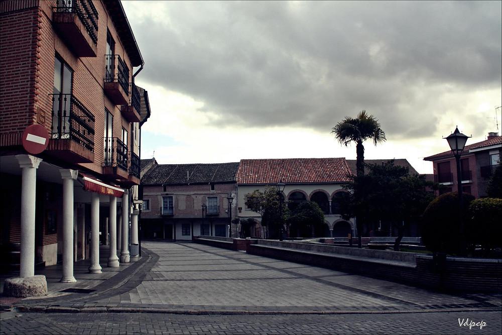 Plaza en Olmedo