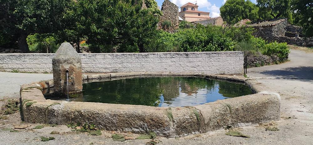 Fuente de la Mingacha en Aldea del Obispo