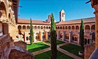 Claustro Monasterio de Valbuena de Duero