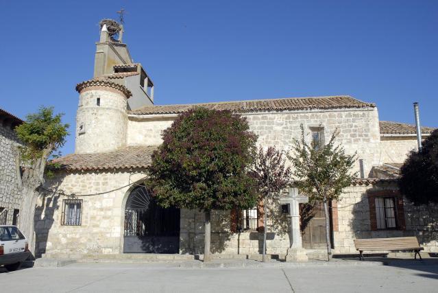 Iglesia parroquial de La Mudarra.