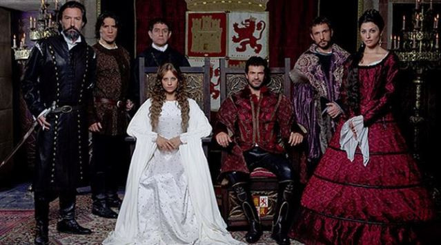 "Protagonistas de la serie de TVE ""Isabel"""
