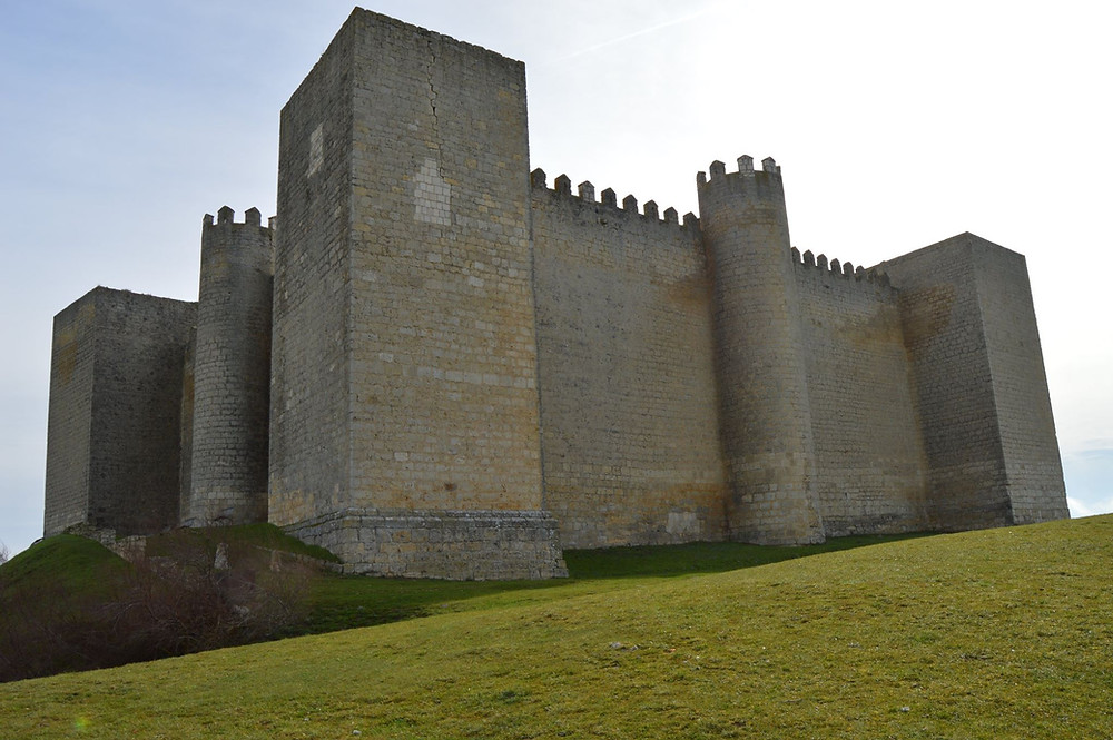 Castillo de Montealegre de Campos.