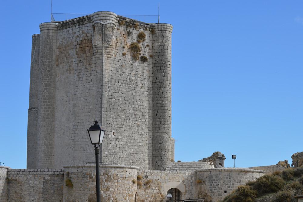 Castillo de Íscar.