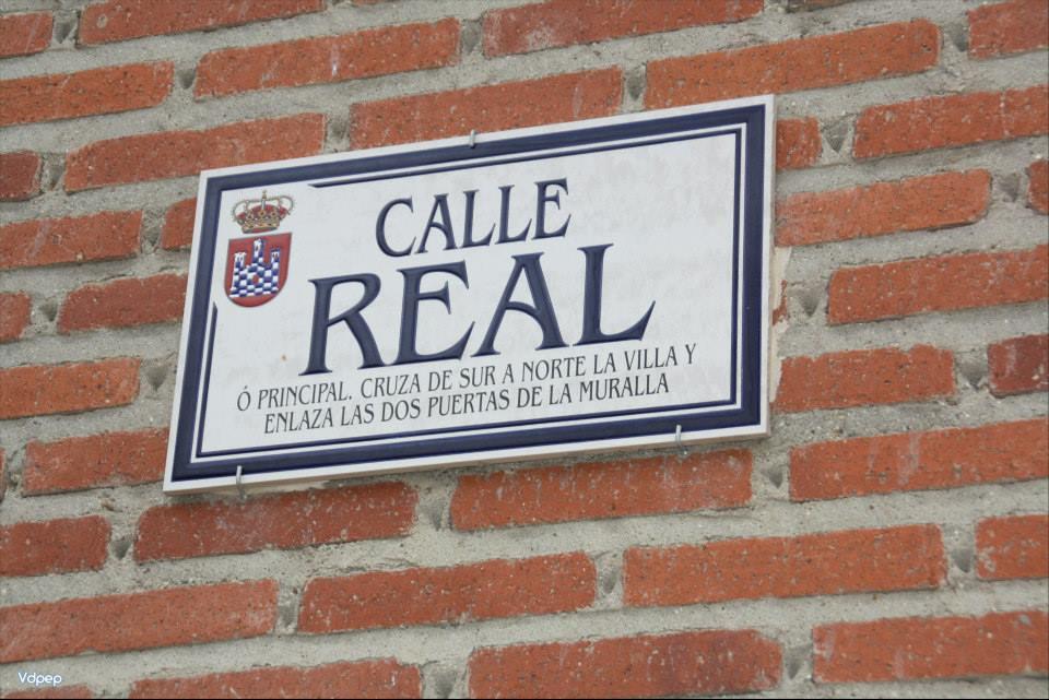 Calle real de Urueña