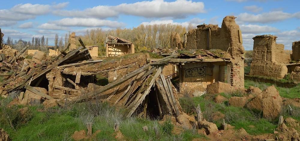 Ruinas y pueblos abandonado de Villacreces