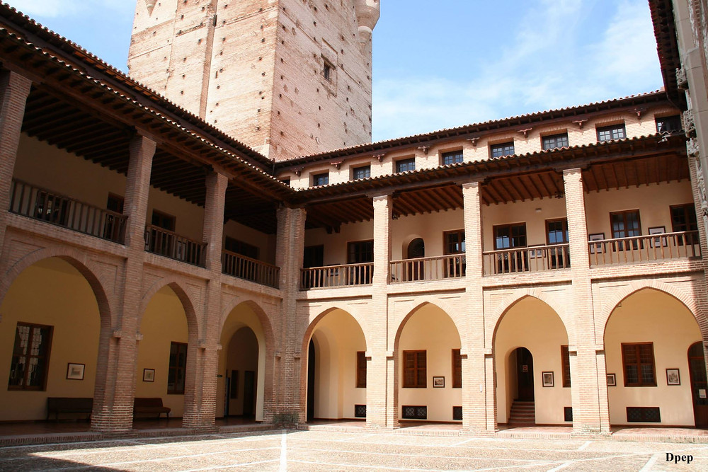 Interior Castillo de la Mota de Medina del Campo