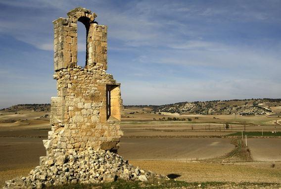 Ruinas del convento de Mazariegos en Piña de Esgueva