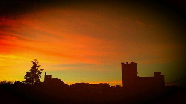 Torrelobatón. Foto enviada por @Andrea96Villa
