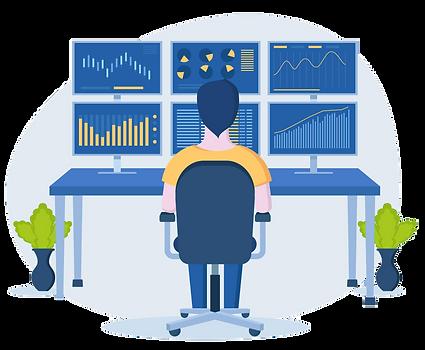 Dashboard Investmentplattform (Neues Grü