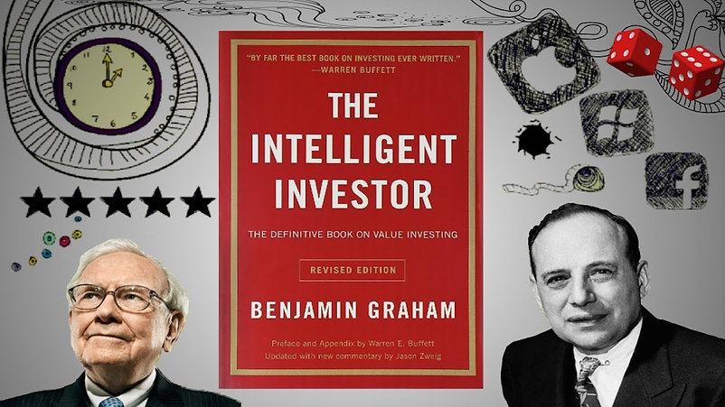TheIntelligentInvestor(Benjamin Graham).