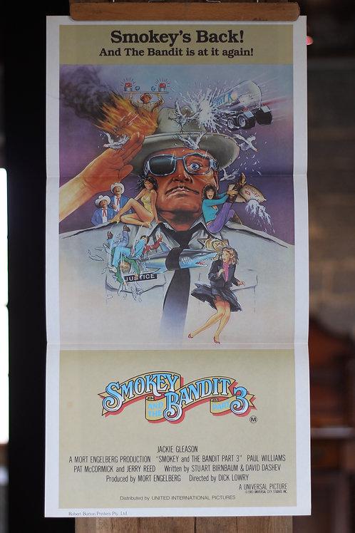 Smokey & the Bandit 3 - daybill