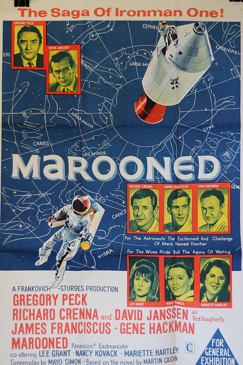 Marooned - one-sheet poster