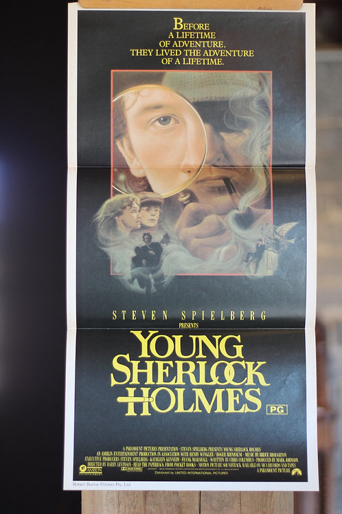 Young Sherlock Holmes - daybill